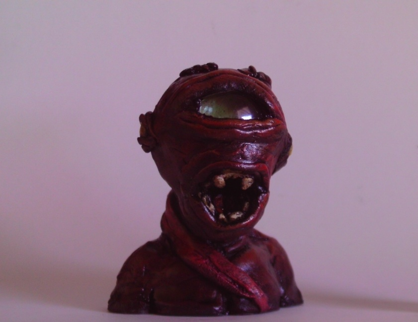 Red Sculpey Devil